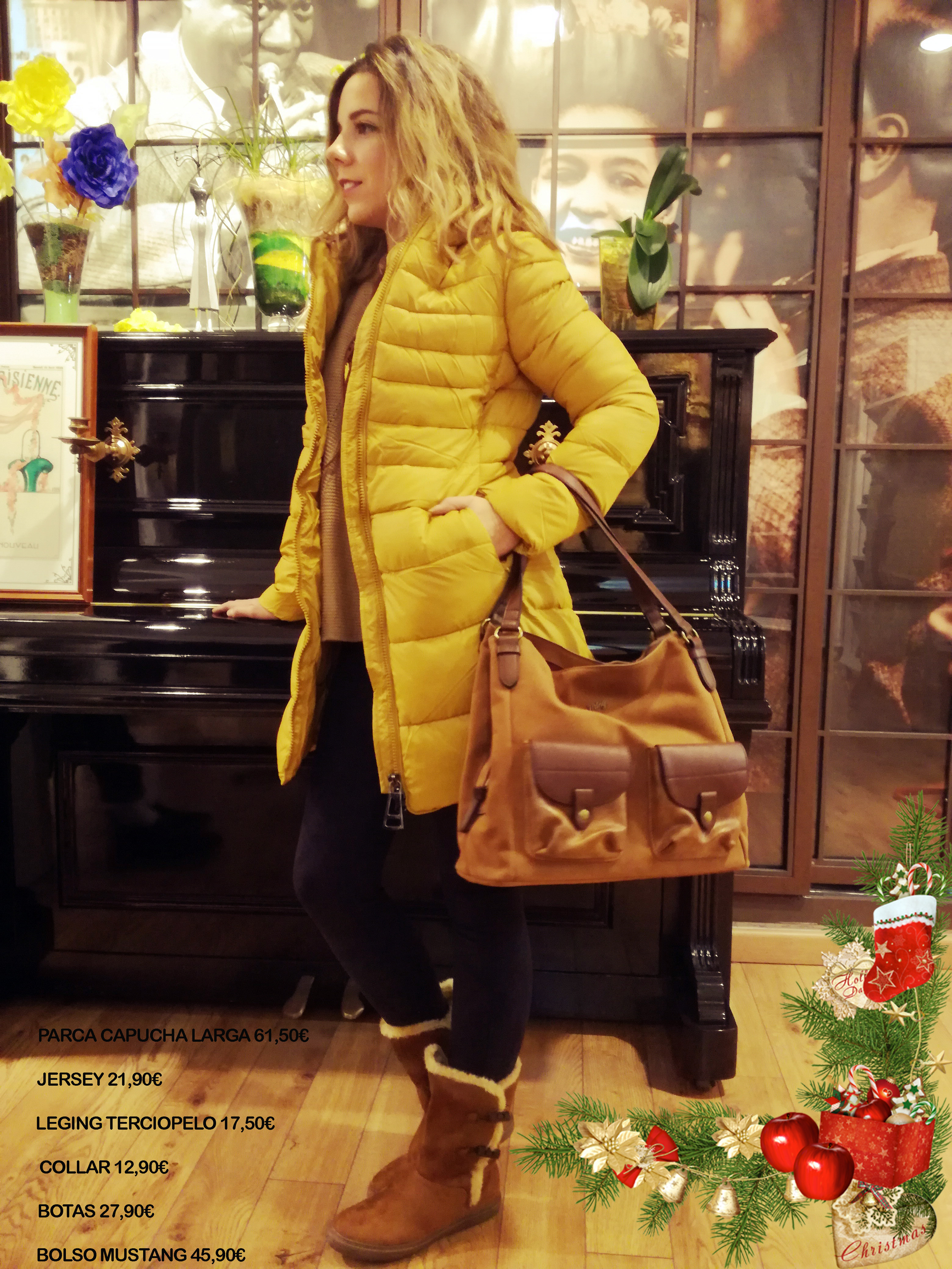 Nuestra propuesta para hoy, un look con el que no pasarás desapercibida!! Una chaqueta que sienta genial, con uno de los colores clave de este invierno! Cómoda y actual esperamos que os guste! Ven a vernos y disfruta comprando!!