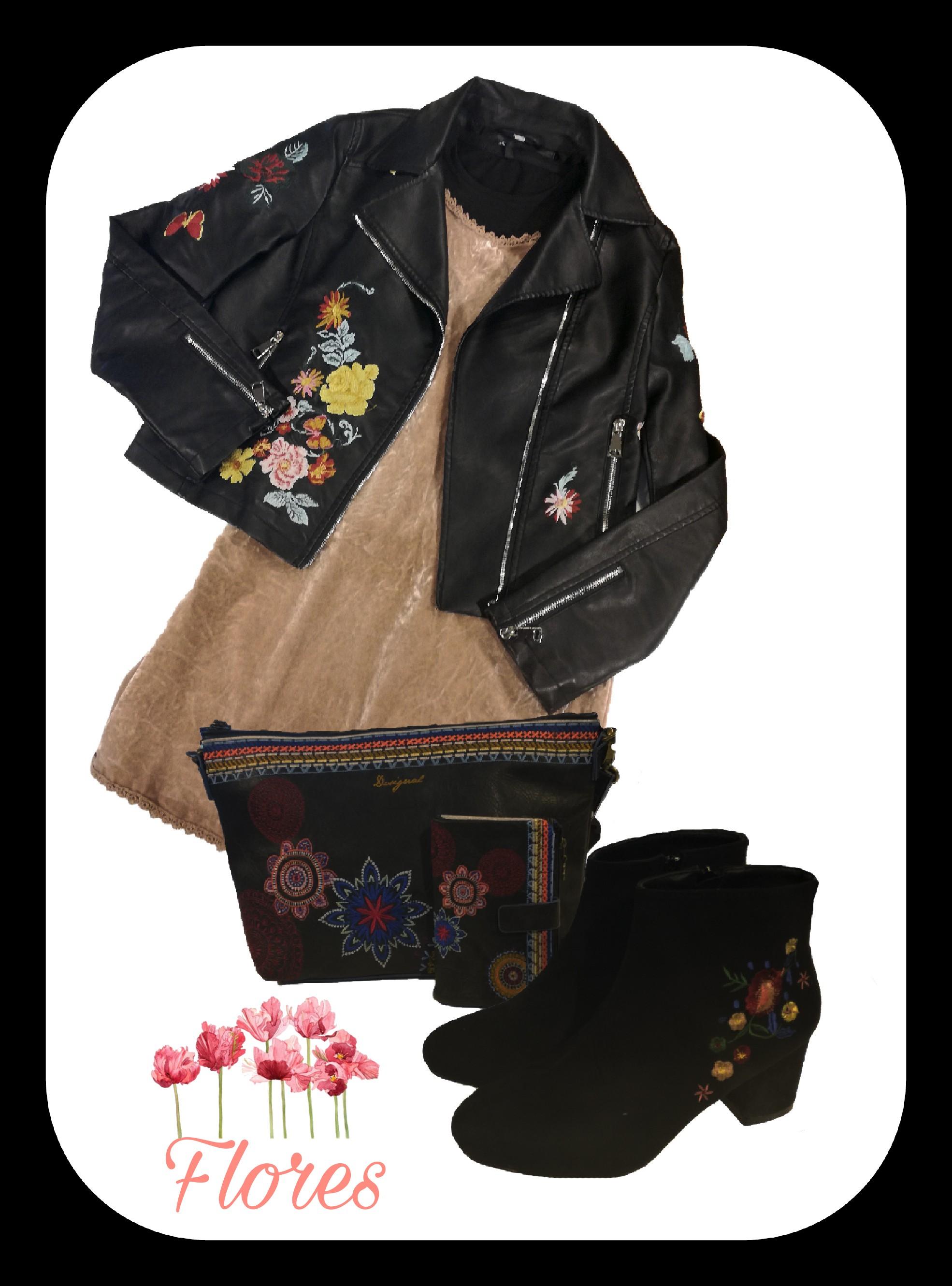 Las flores también son tendencia este invierno!! 🌺🌷🌻Os dejamos el look que hemos preparado para hoy!! Ven a vernos y disfruta comprando!!! #flores #tendencia #moda #ropa #zapatos #albacete